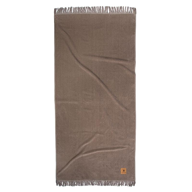 Πετσέτα Θαλάσσης 90×190 Greenwich Polo Club Essential 2845 Μπεζ