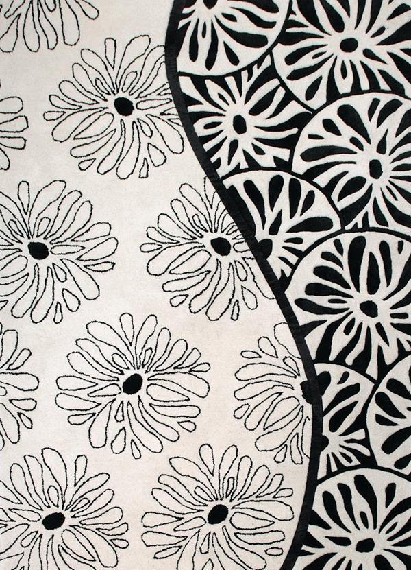 Χαλί Σαλονιού 160X230 New Plan Cristina Rossi Χειροποιητο Ινδιας Στοκ Πχ 047L/Β.Wηι