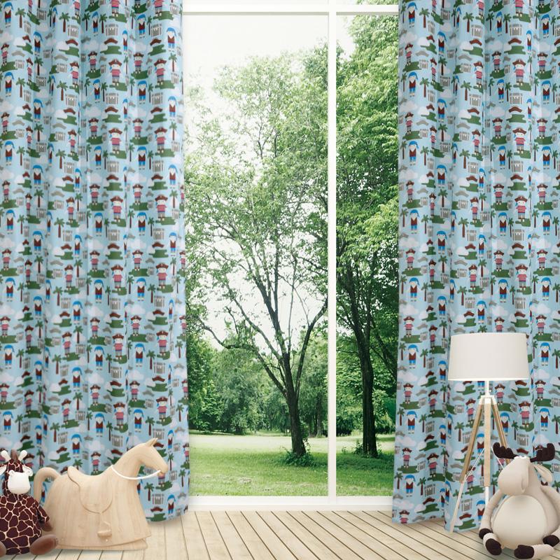 Κουρτίνα Με Τρουκς 140×260 Das Home Curtain 2142 Κοκκινο-Γαλαζιο-Μπλε