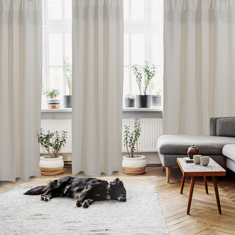 Κουρτίνα Με Τρουκς 140×260 Das Home Curtain 2151 Ιβουαρ