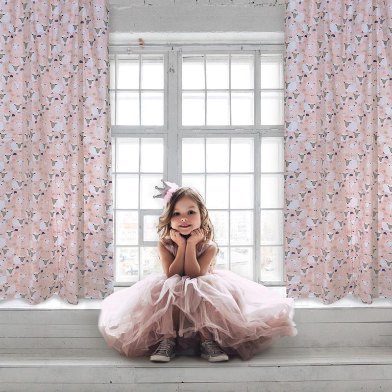 Κουρτίνα Με Τρουκς 140×260 Das Home Curtain 2159 Σιελ-Σωμων