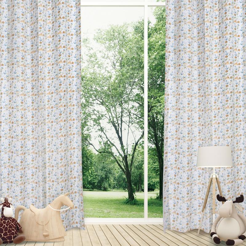Κουρτίνα Με Τρουκς 140×260 Das Home Curtain 2161 Σιελ-Πρασινο