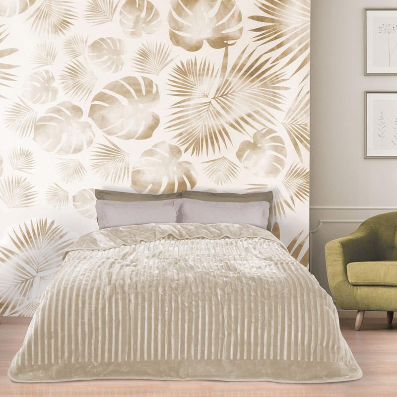Κουβέρτα Βελουτέ Μονή 160X240 Das Home Blankets Winter 0445