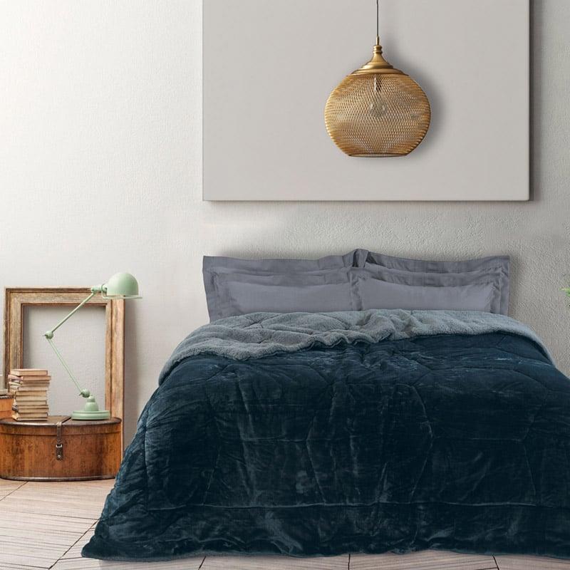 Κουβερτοπάπλωμα Υπέρδιπλο 220X240 Das Home Blankets Winter 1144