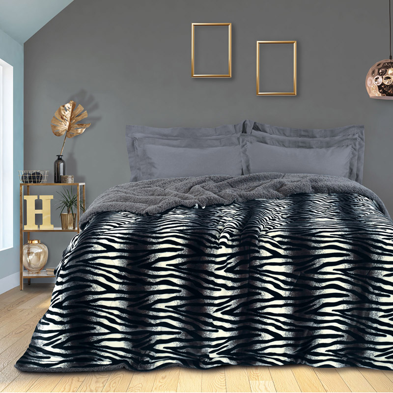 Κουβερτοπάπλωμα Υπέρδιπλο 220X240 Das Home Blankets Winter 1147