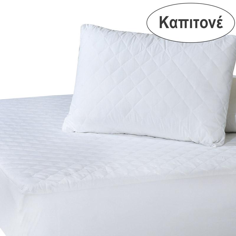 Επίστρωμα Καπιτονέ Μονό 100X200+35 Das Home Comfort Mattress Protectors 1088 Λευκό Με Λάστιχο