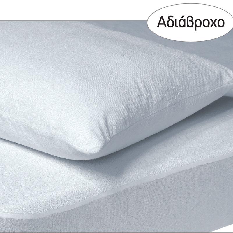 Αδιάβροχο Επίστρωμα Διπλό 160×200+35 Das Home Comfort Mattress Protectors 1089 Λευκο