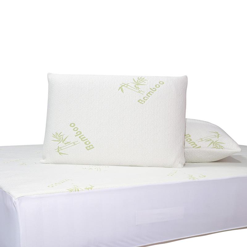 Επίστρωμα Καπιτονέ Υπέρδιπλο 180×200+25 Das Home Comfort Mattress Protectors 1097 Λευκο-Πρασινο