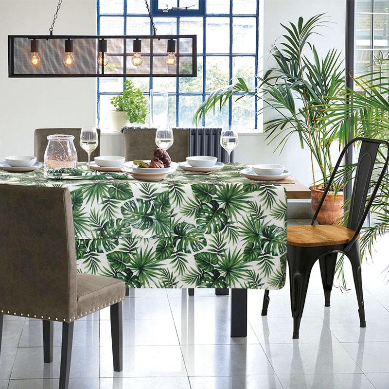 Τραπεζομάντηλο 140×140 Das Home Table 0556 Πρασινο