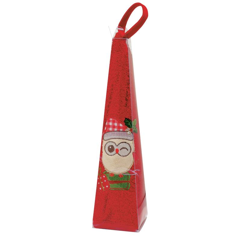 Χριστουγεννιάτικη Πετσέτα Φαγητού Φ.50 Das Home Christmas 0590 Κοκκινο