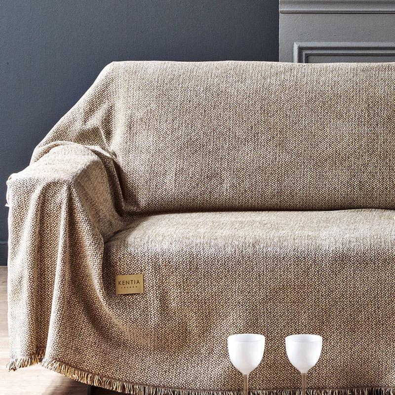 Ριχτάρι Τριθέσιου 180X300 Kentia Stylish Best 15 Καφέ
