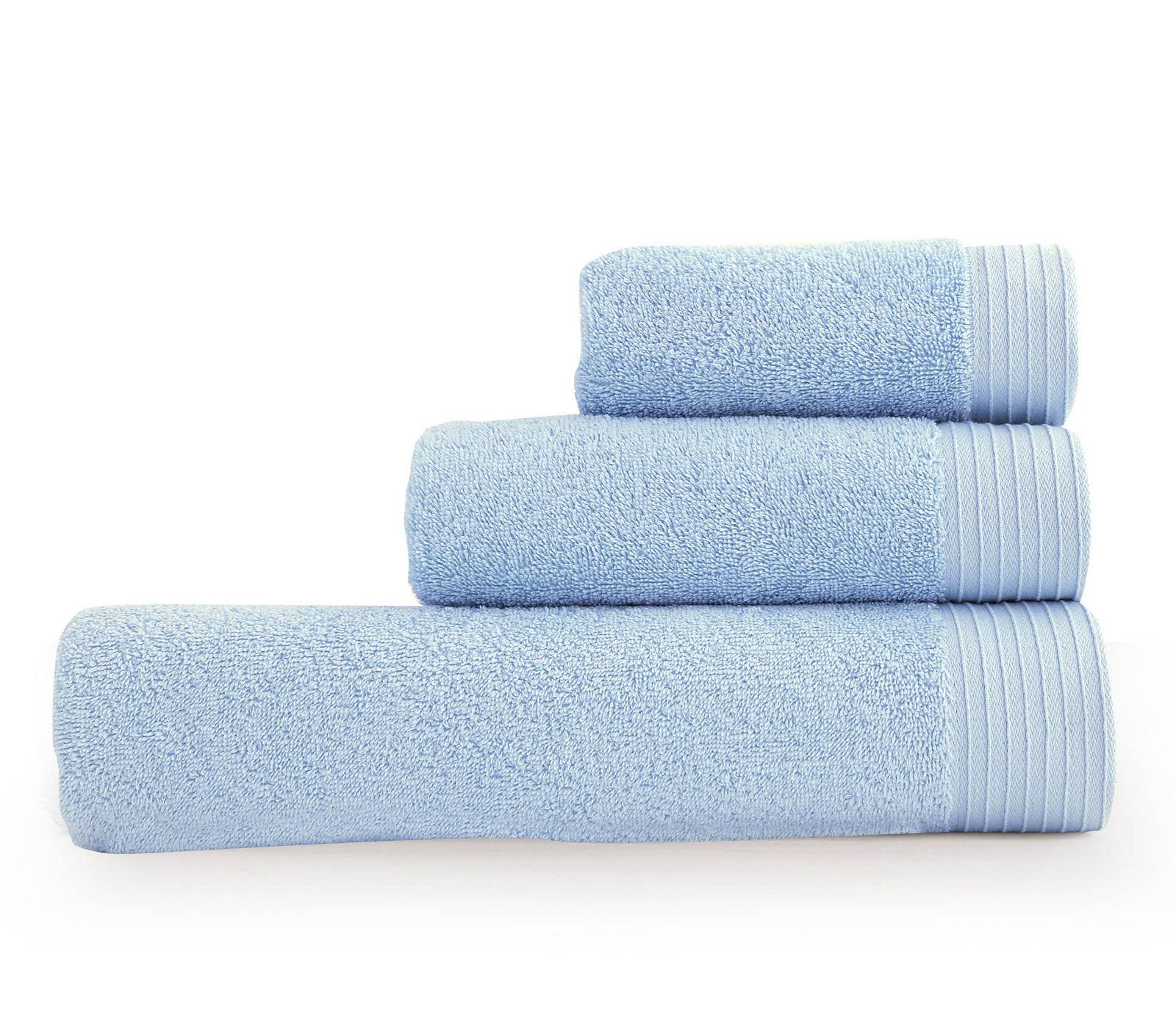 Πετσέτα Μπάνιου 70×140 Nef Nef Venus-01 Σιελ-L.Blue
