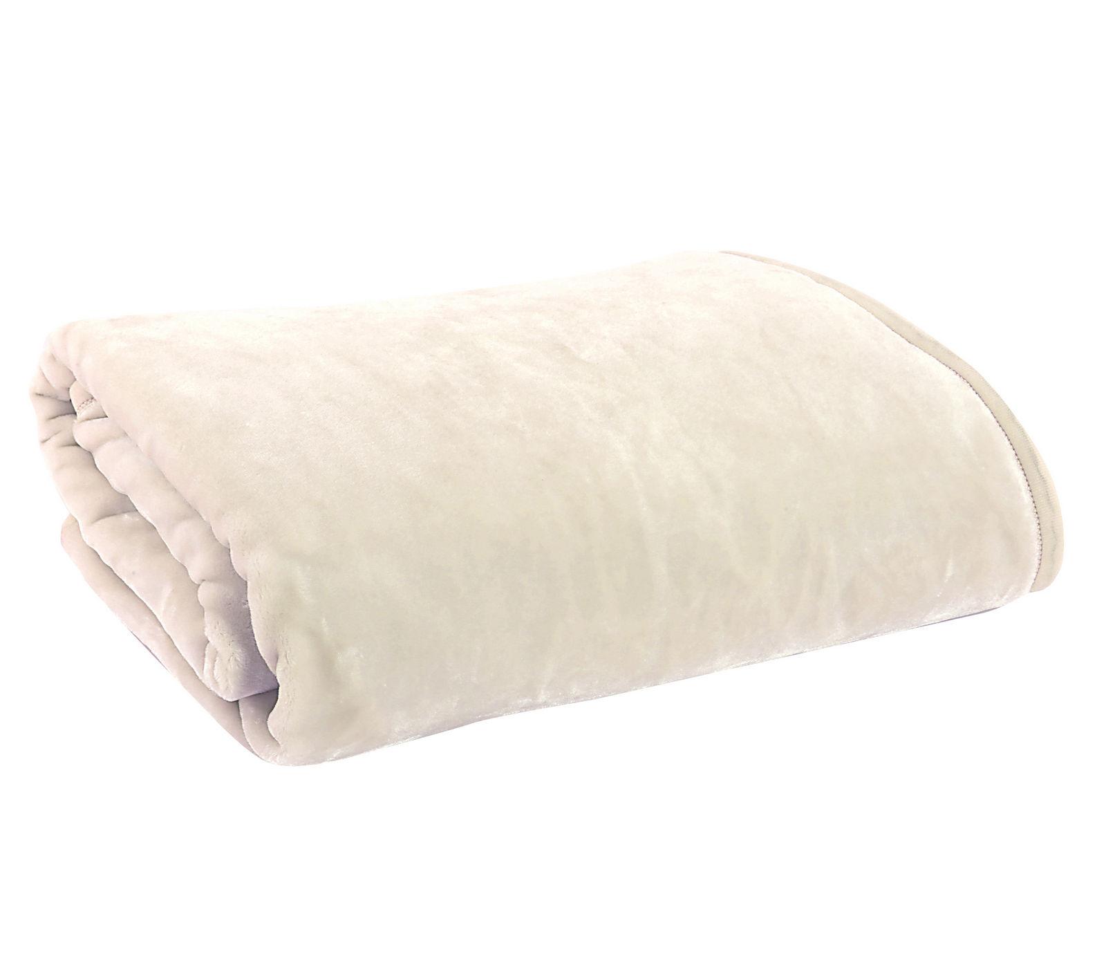 Κουβέρτα Υπέρδιπλη 220×240 Nef Nef Βελουτέ Loft Ecru