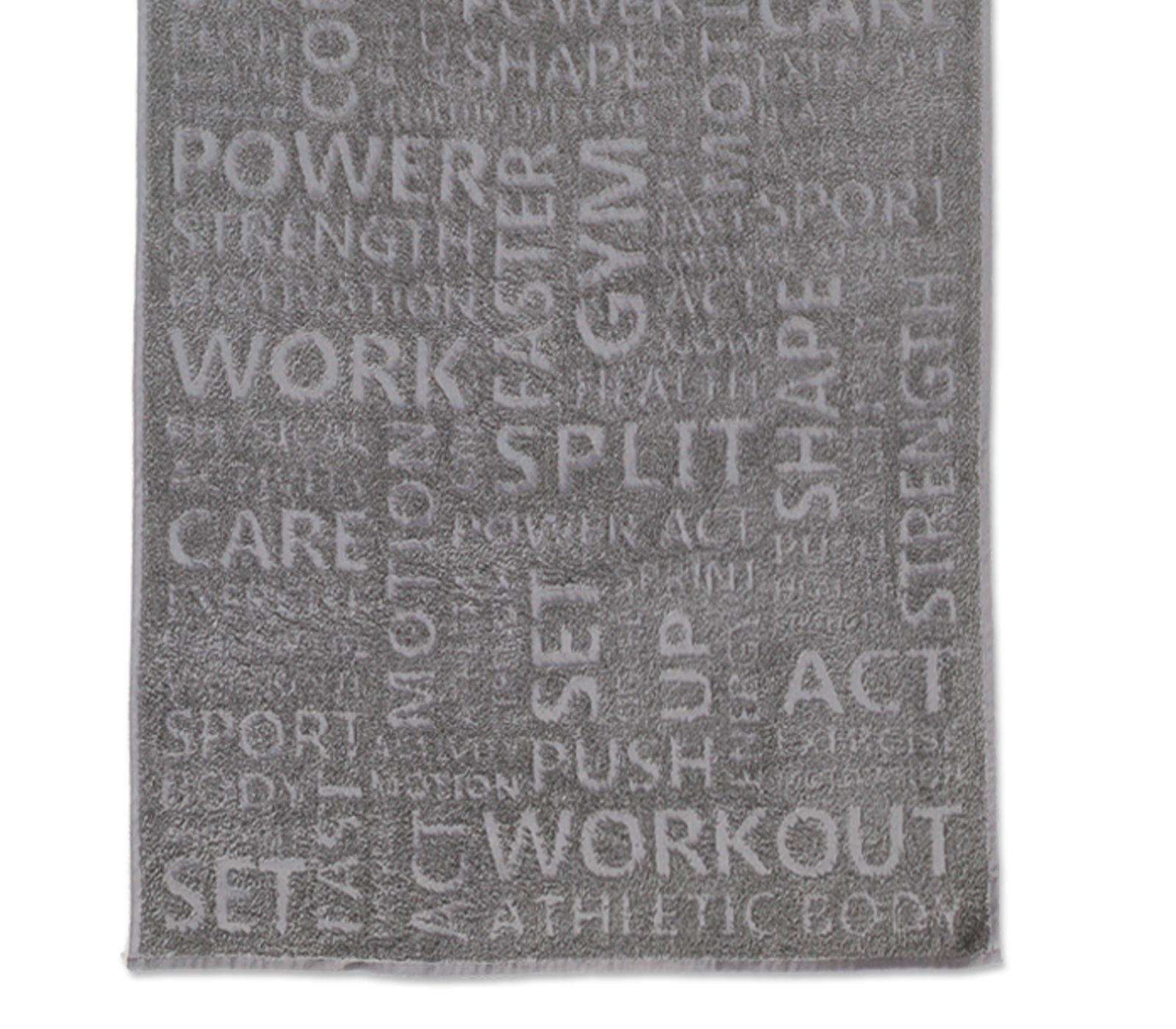 Πετσέτα Μπάνιου 70×150 Nef Nef Γυμναστηριου Gym Grey