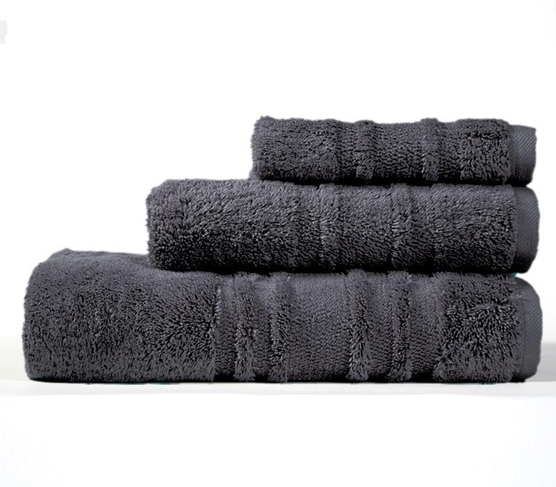 Πετσέτα Χεριών 30×50 Nef Nef Supreme 973-Anthracite