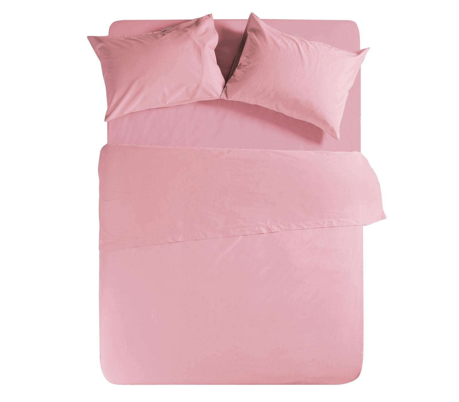 Σεντόνι Μεμονωμένο Υπέρδιπλο 160×200+30 Nef Nef Basic 1011-Pink Με λάστιχο