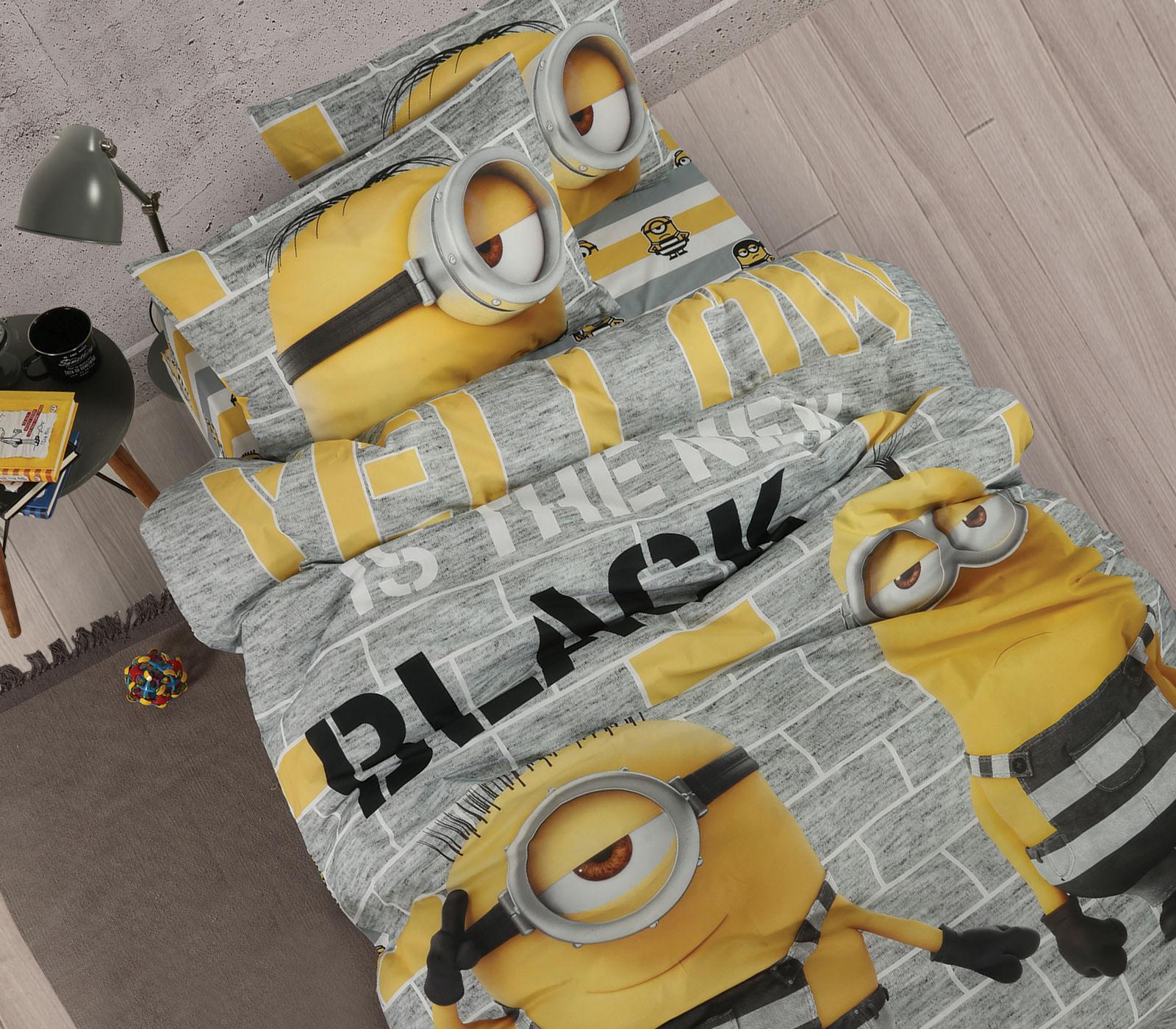 Σεντόνια Μονά (Σετ) Nef Nef Bricks Κίτρινο