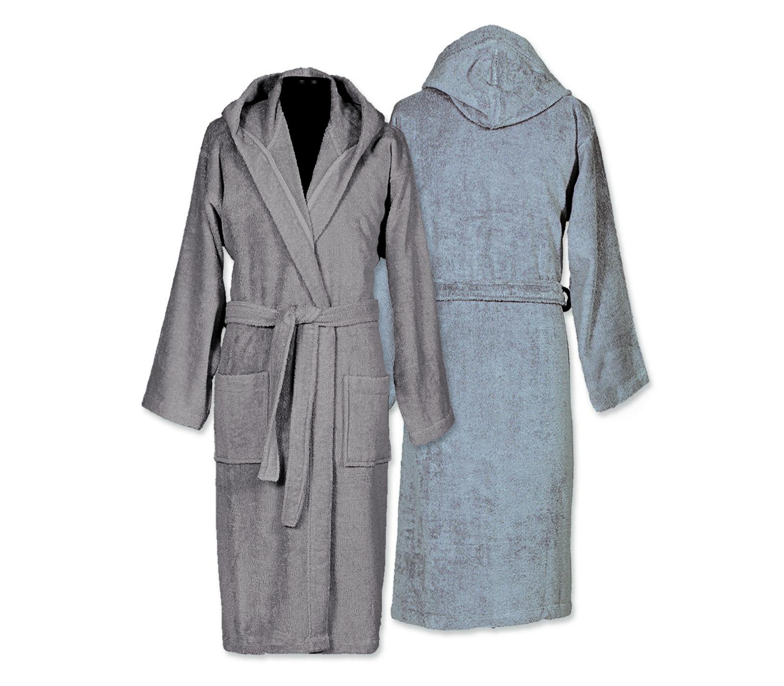Μπουρνούζι Με Κουκούλα Small Nef Nef Comfort Grey