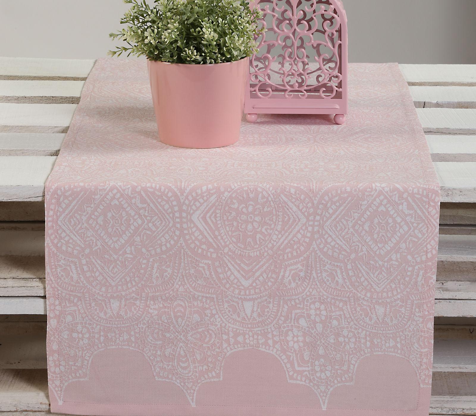 Τραβέρσα 45×140 Nef Nef Half Panama Henna Pink