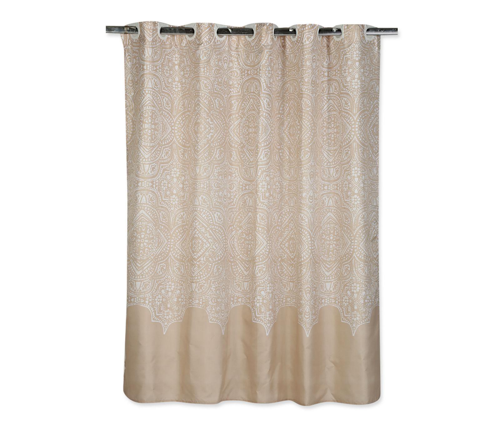 Κουρτίνα Μπάνιου 180×180 Nef Nef Henna Linen
