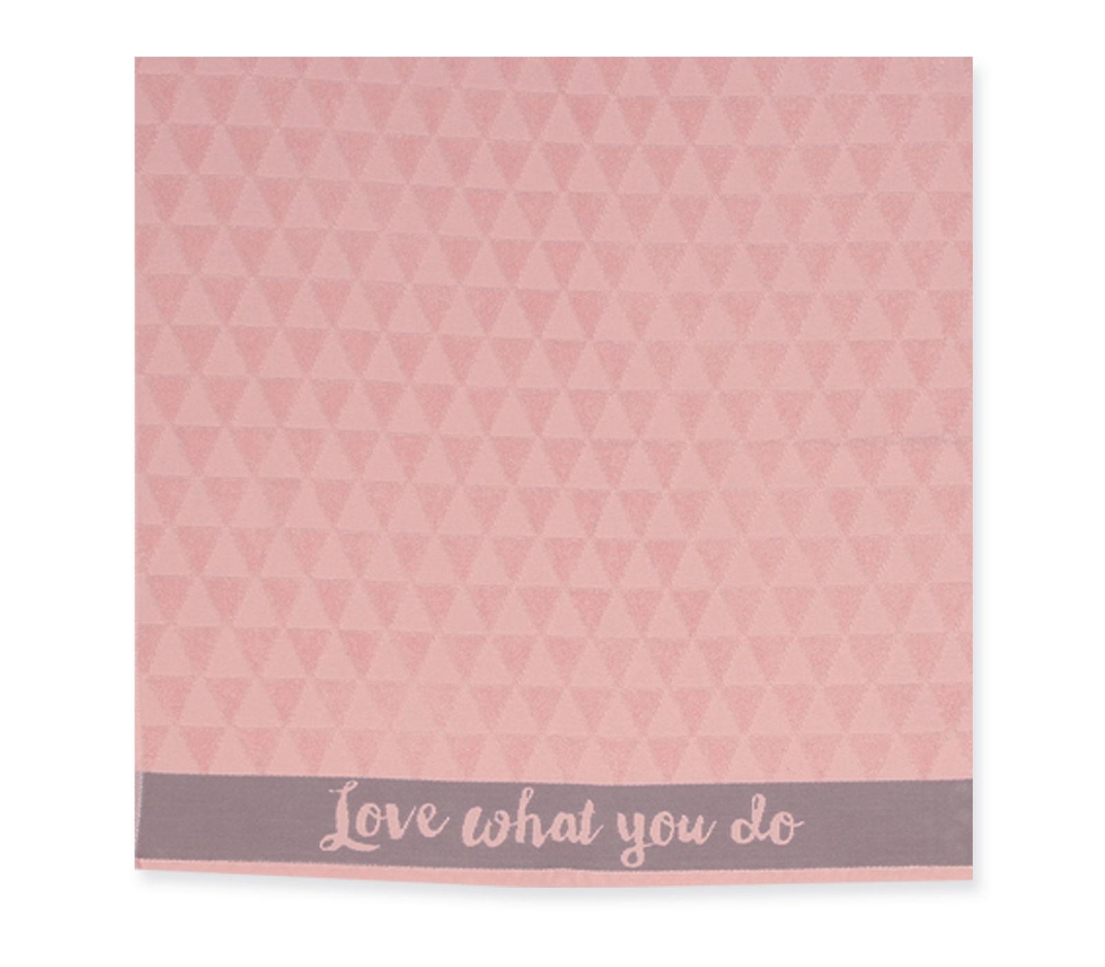 Ποτηρόπανο 50×50 Φροτέ Nef Nef Mood Pink