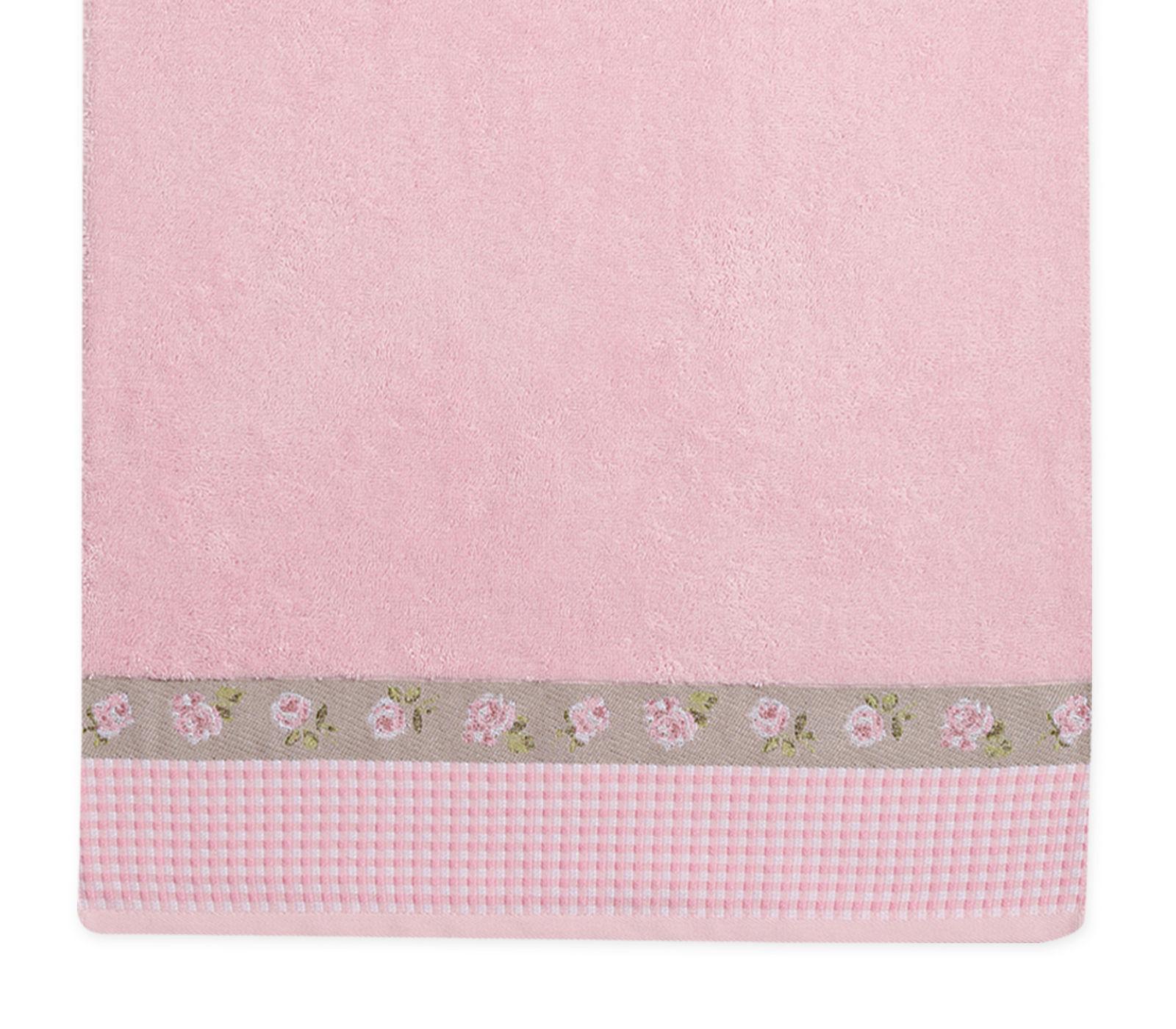 Πετσέτα Προσώπου 50×90 Nef Nef Ζακαρ Μπορντουρα Marylia Pink