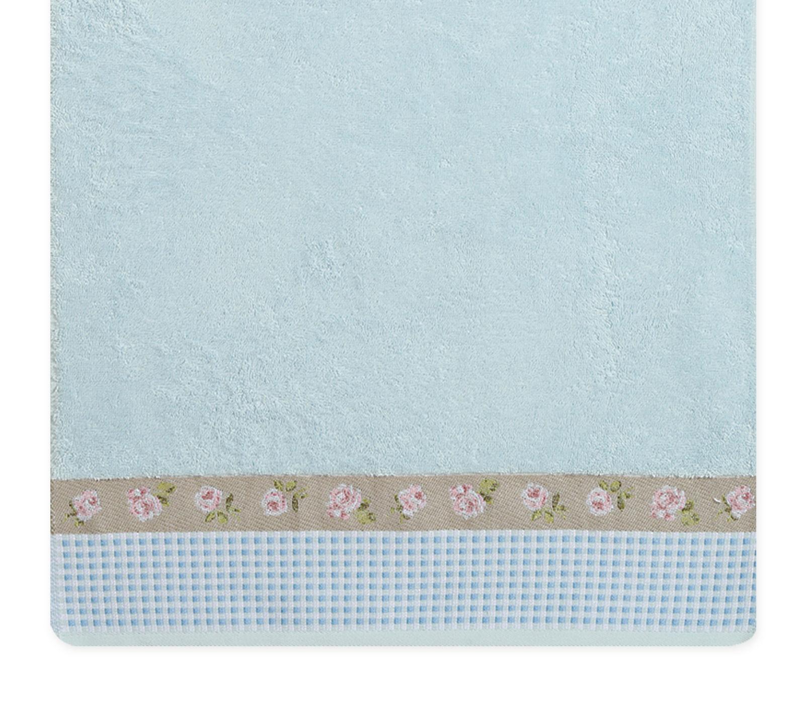 Πετσέτα Μπάνιου 70×140 Nef Nef Ζακαρ Μπορντουρα Marylia Blue