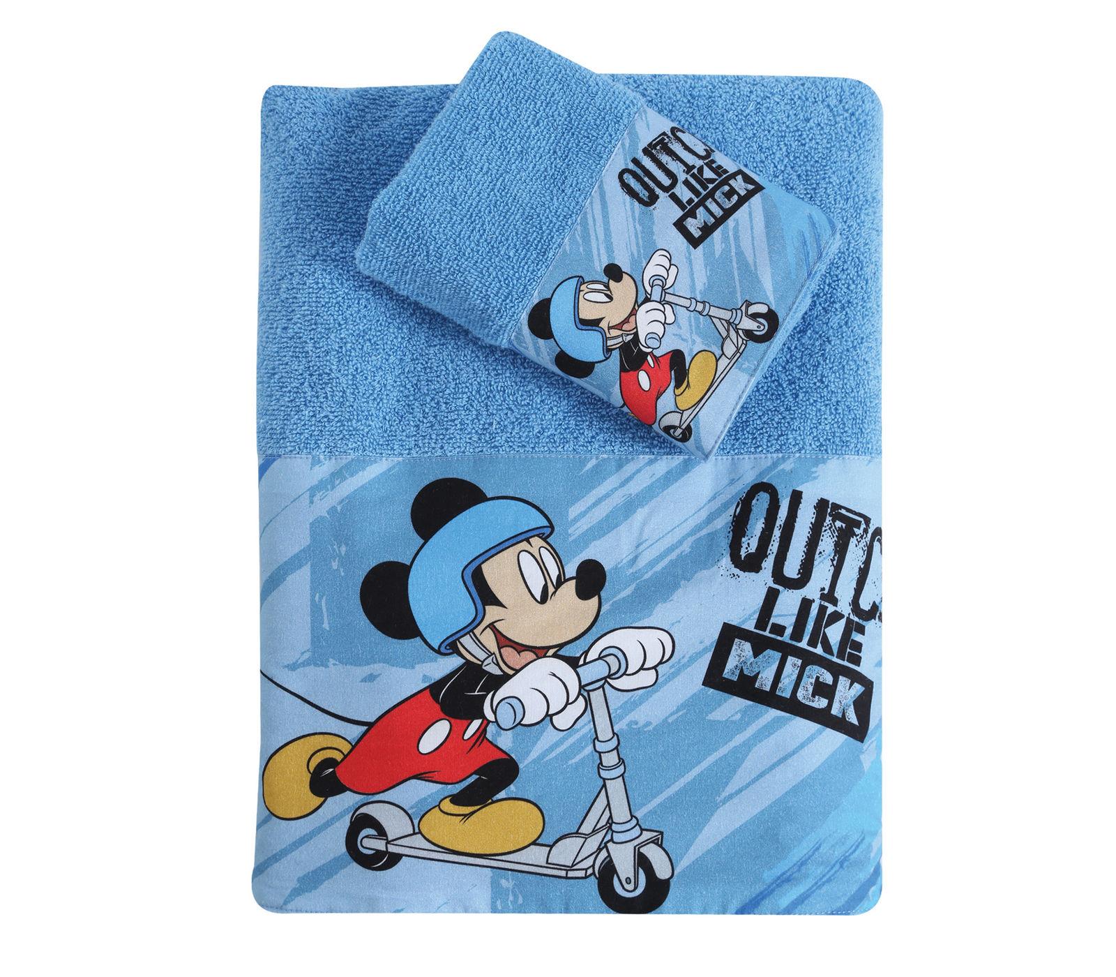 Παιδικές Πετσέτες (Σετ 2 Τμχ) Nef Nef Quick Like Mick Γαλάζιο