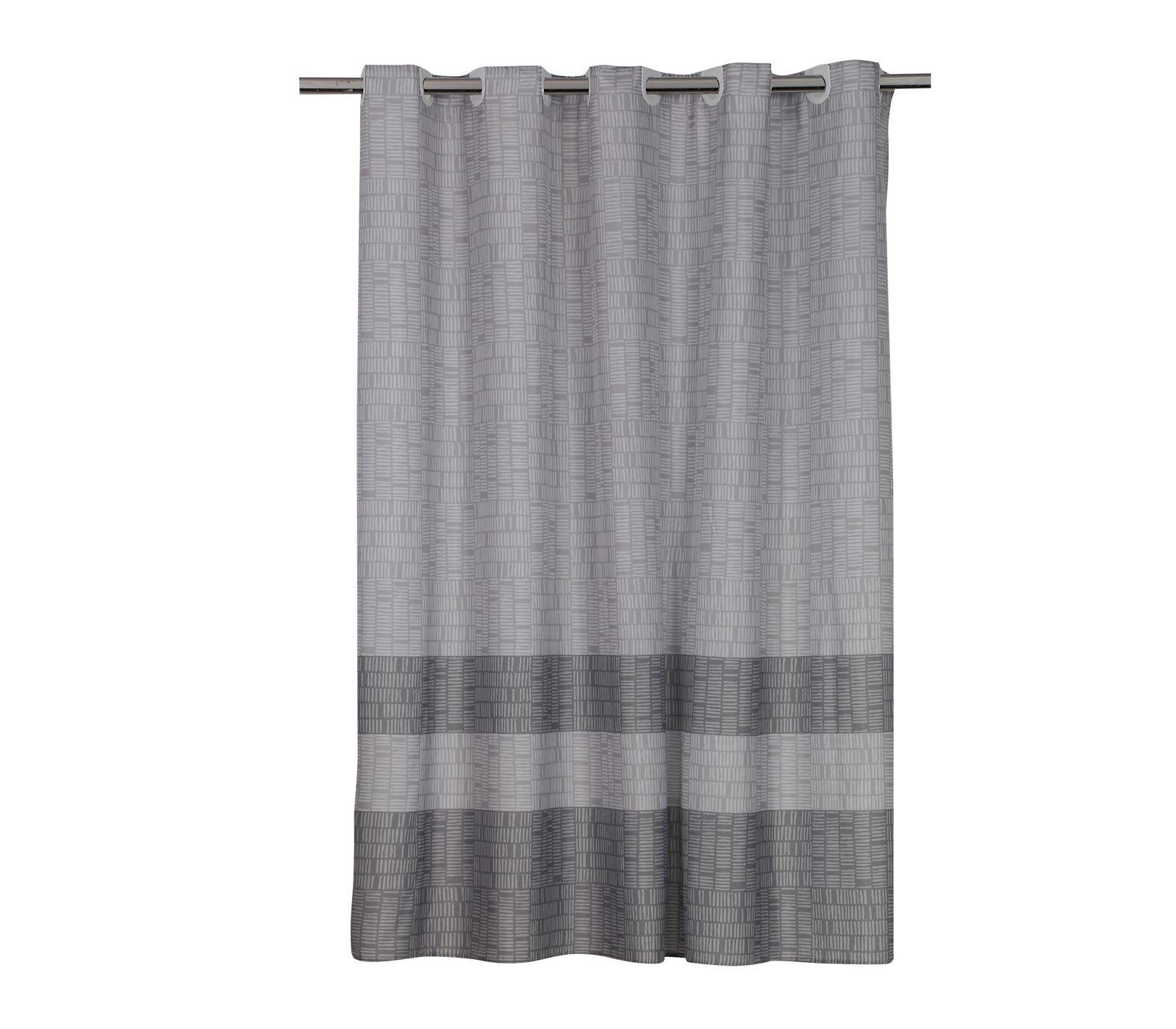 Κουρτίνα Μπάνιου 180×180 Nef Nef Lak Grey
