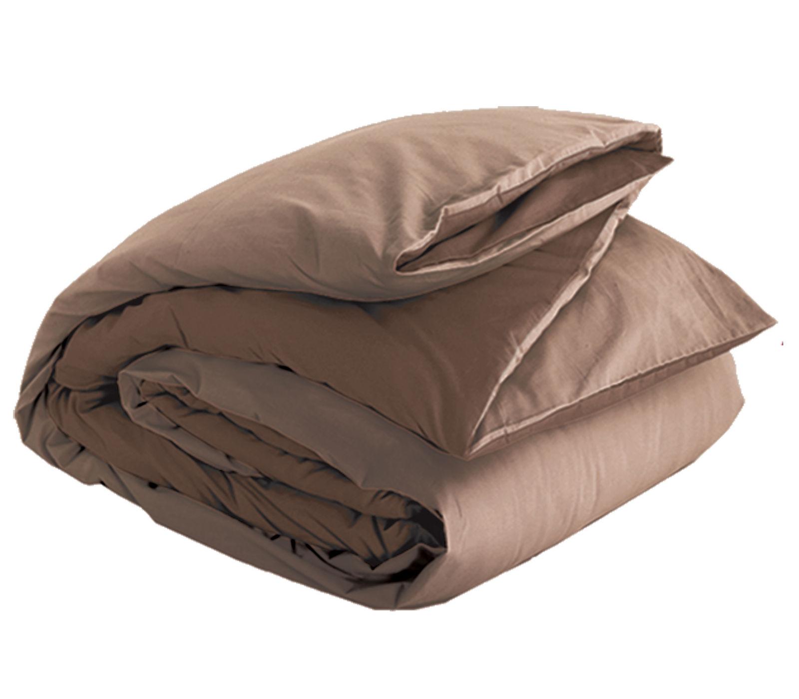 Παπλωματοθήκη Μονή Nef Nef Basic 1012-Brown