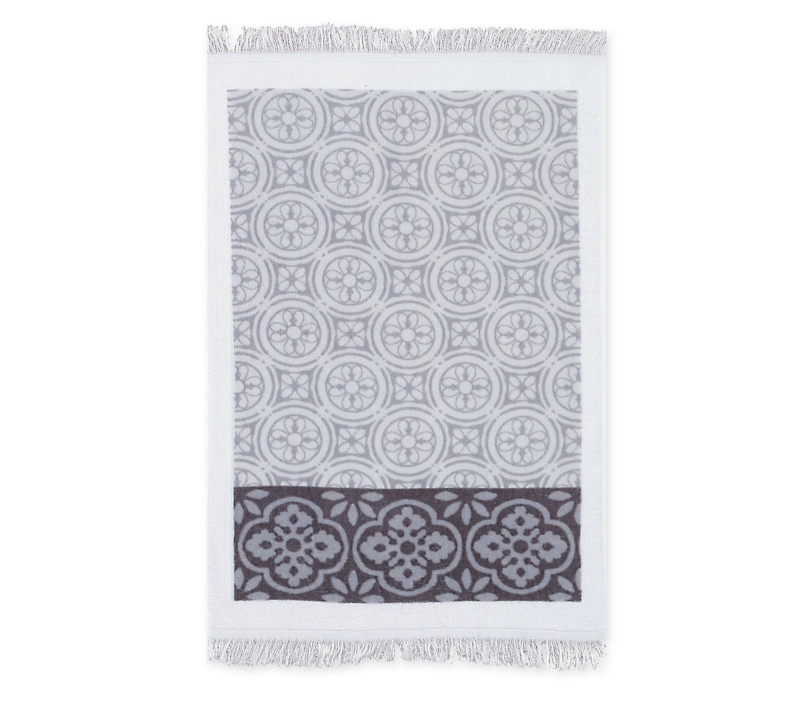 Ποτηρόπανο 40×60 Τυπωτό Βελουτέ Nef Nef Distinct Grey