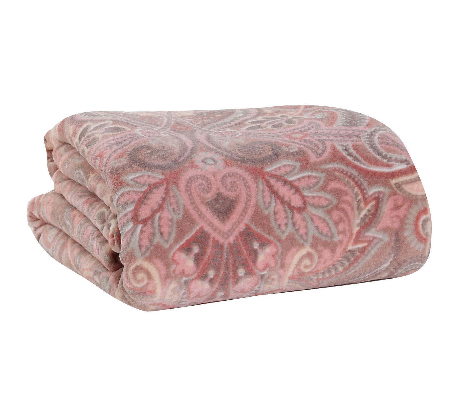 Κουβέρτα Μονή 160×220 Nef Nef Fleece Riali Pink