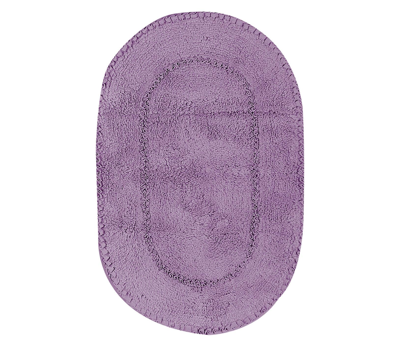 Πατάκι Μπάνιου 55×85 Nef Nef Ζακάρ New Crochet 1119-Purple