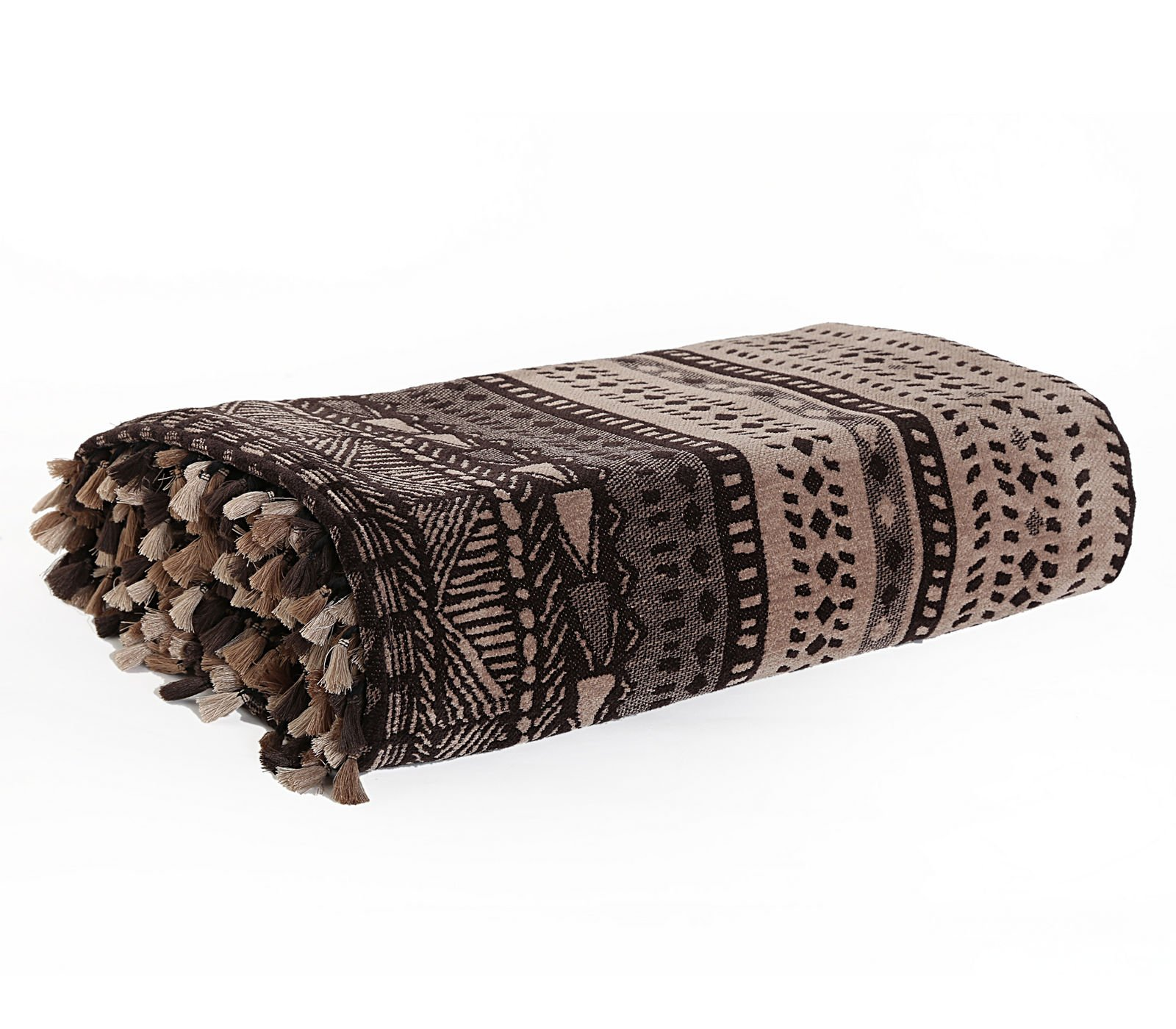 Ριχτάρι 130×170 Nef Nef Ζακαρ Africa Beige/Brown