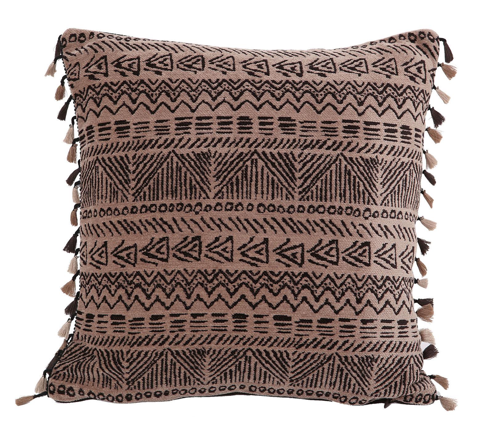 Διακοσμητικό Μαξιλάρι 45×45 Nef Nef Ζακαρ Africa Beige/Brown