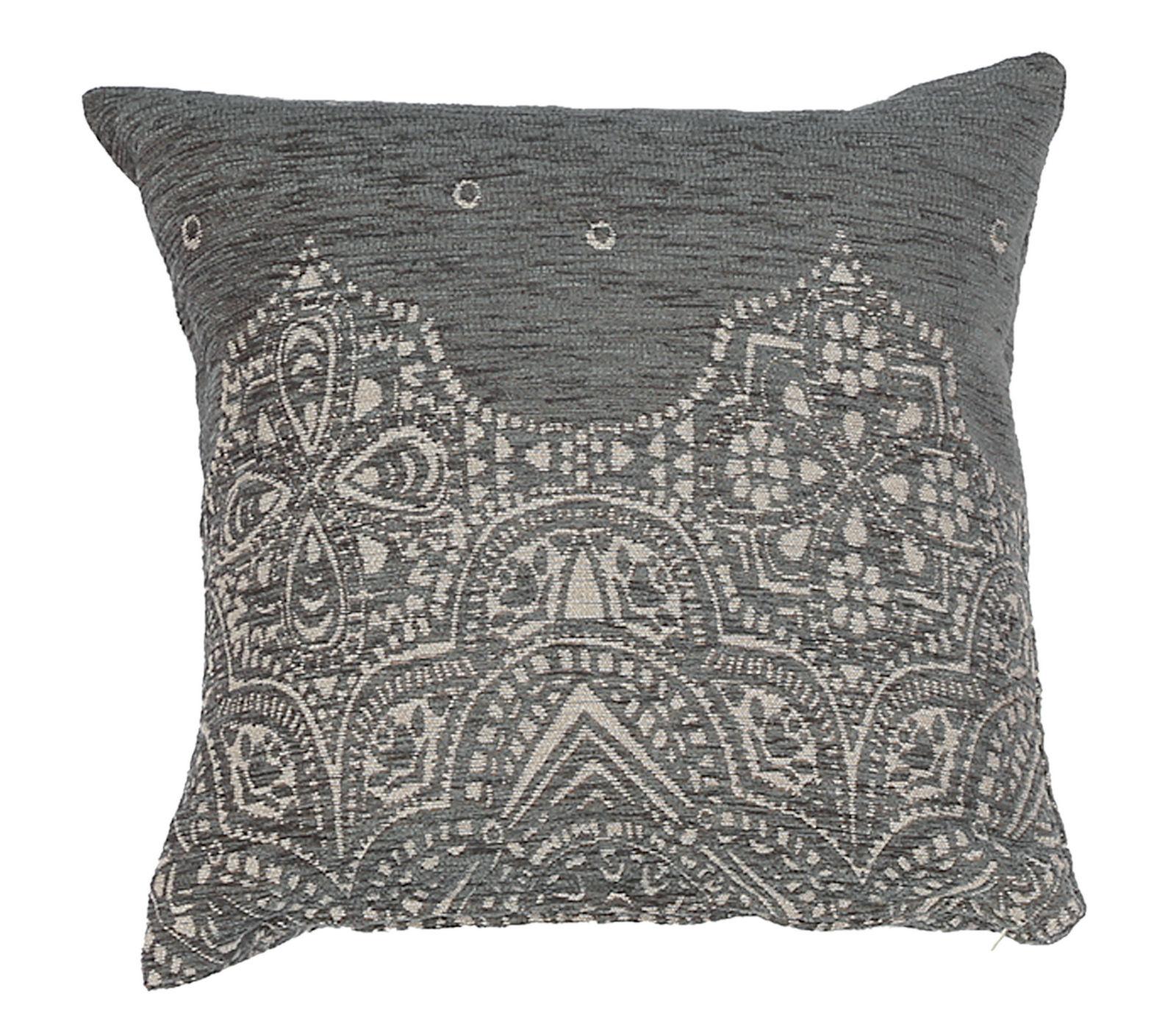 Διακοσμητικό Μαξιλάρι 42×42 Nef Nef Ζακαρ Vellore Winter Grey