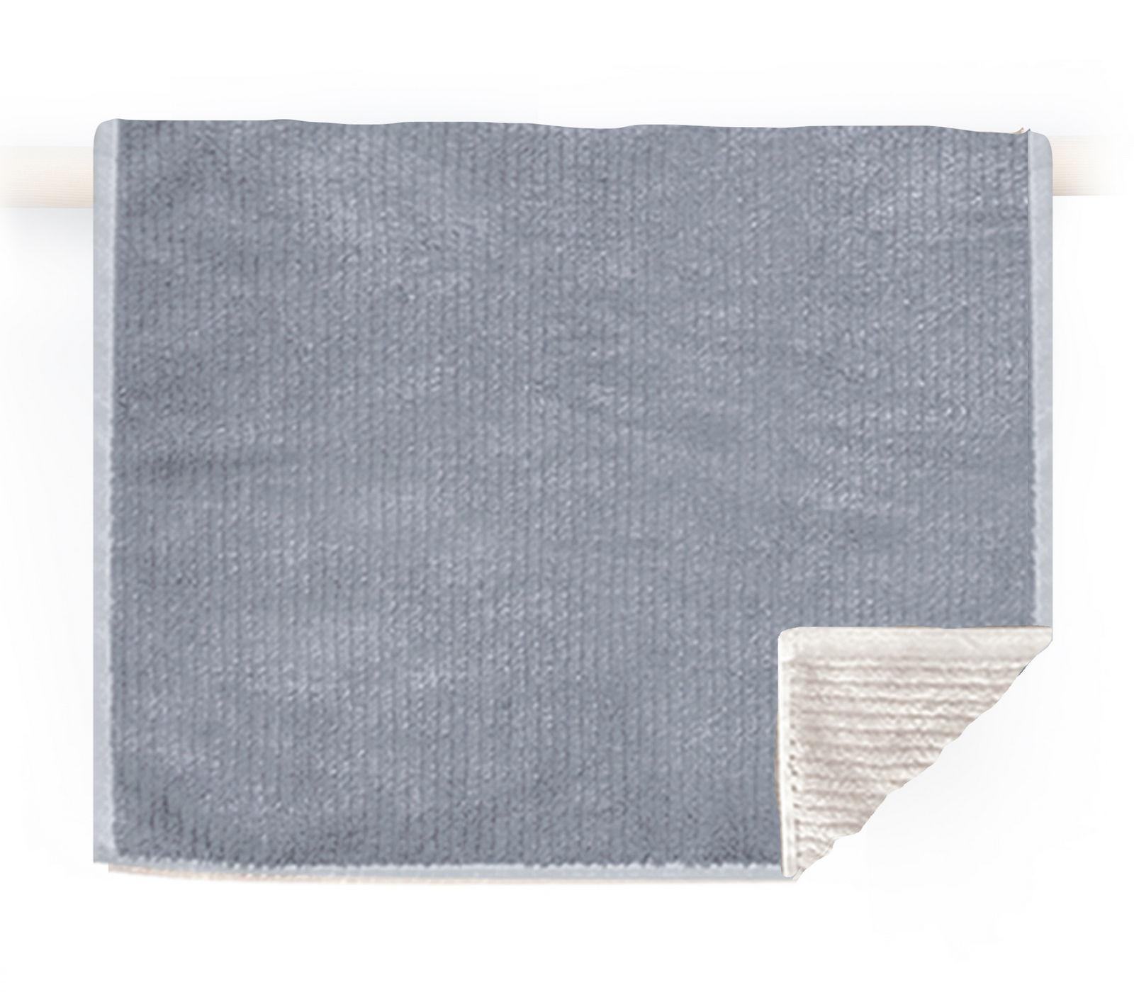 Πετσέτα Χεριών 30×50 Nef Nef Μονοχρωμη Ζακαρ Main Grey