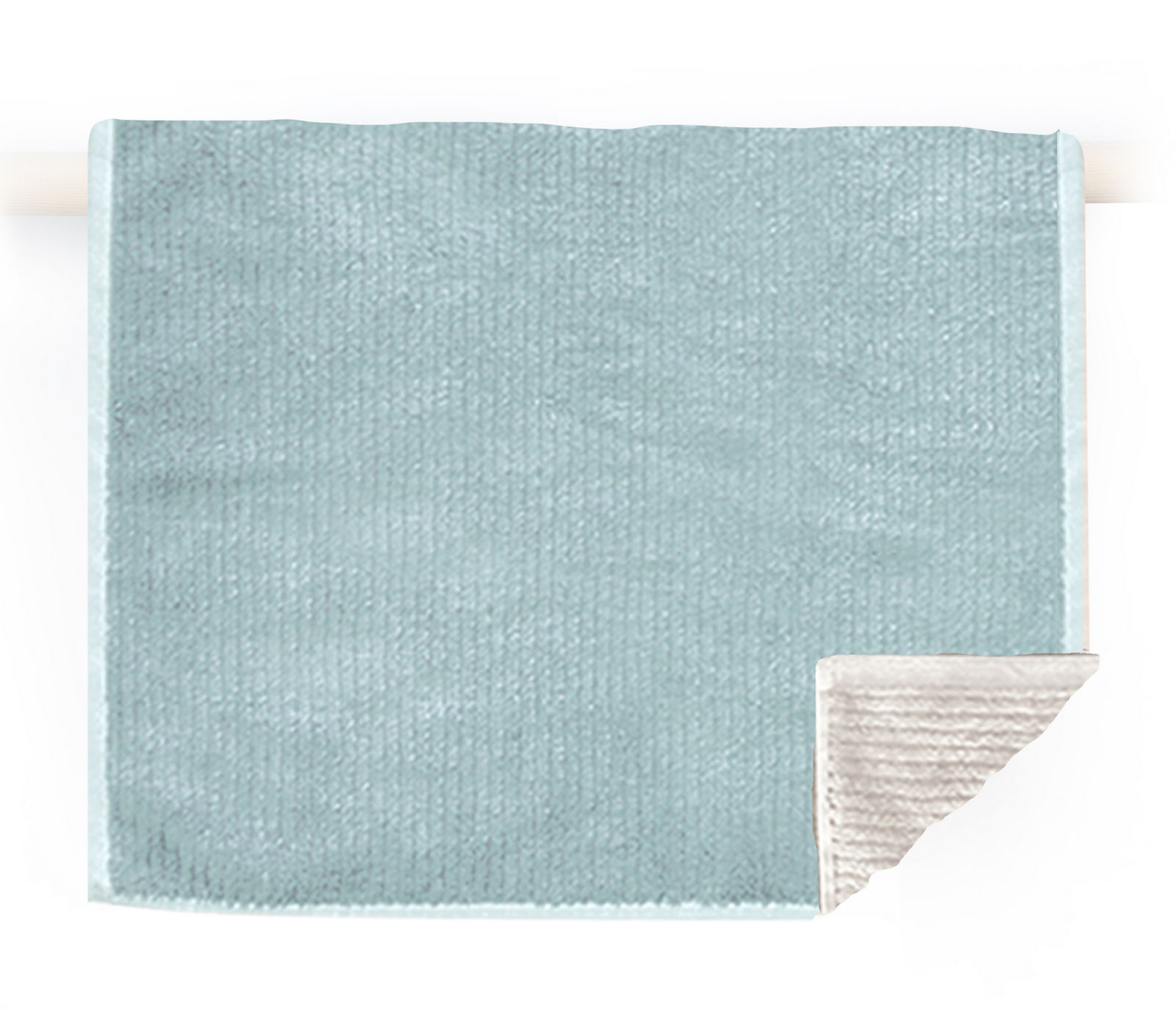 Πετσέτα Χεριών 30×50 Nef Nef Μονοχρωμη Ζακαρ Main Aqua