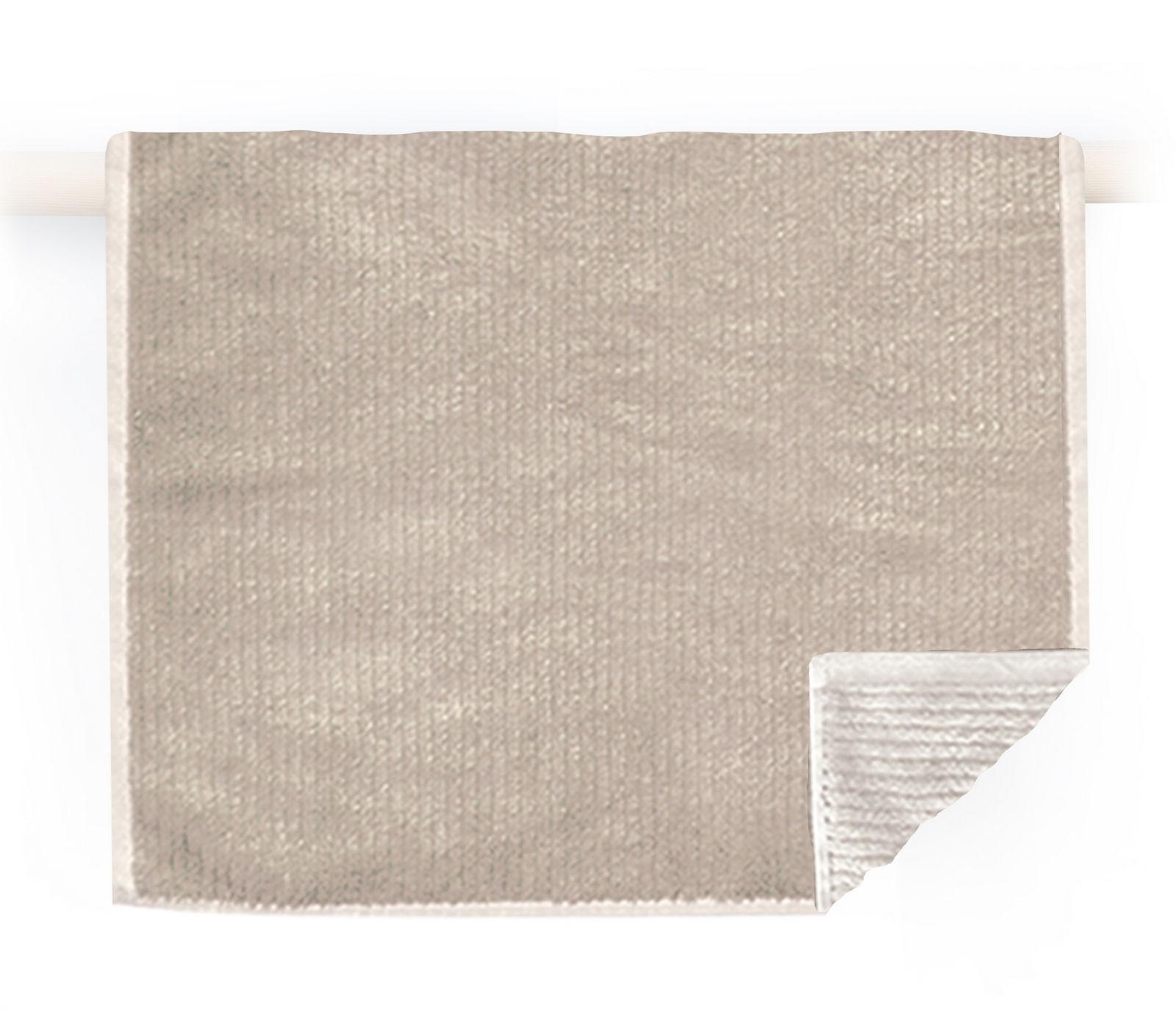 Πετσέτα Προσώπου 50×90 Nef Nef Μονοχρωμη Ζακαρ Main Beige