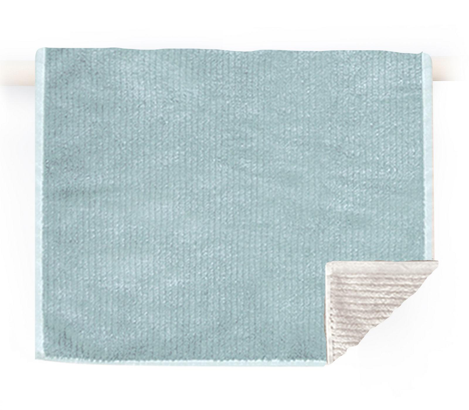 Πετσέτα Προσώπου 50×90 Nef Nef Μονοχρωμη Ζακαρ Main Aqua