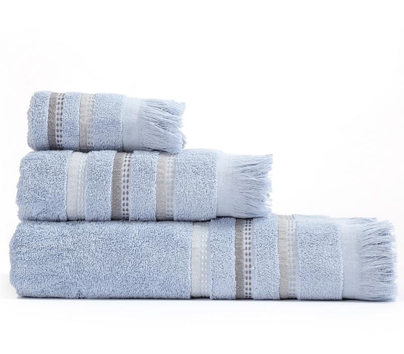 Πετσέτες Μπάνιου (Σετ 3 Τμχ) Limit Nef Nef Blue