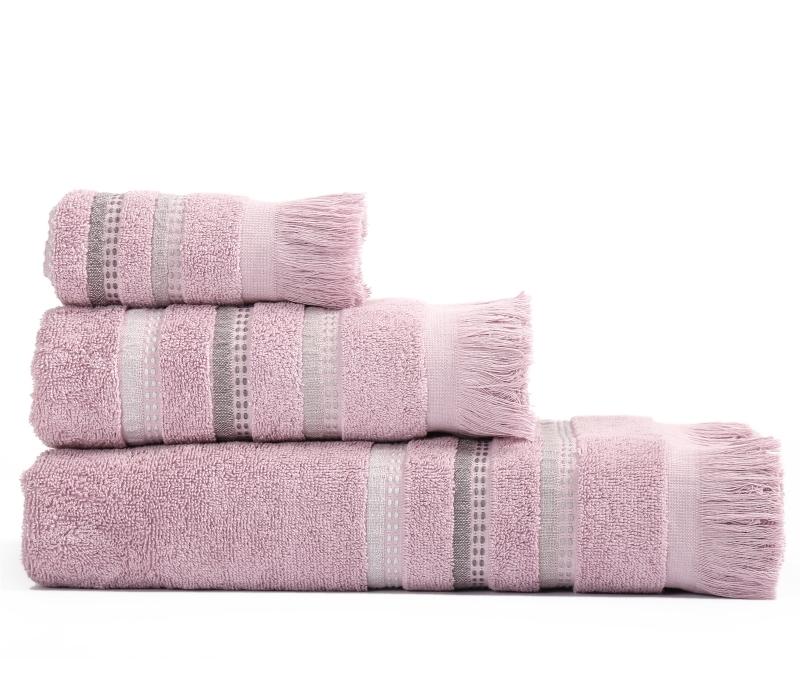 Πετσέτες Μπάνιου (Σετ 3 Τμχ) Limit Nef Nef Lavender