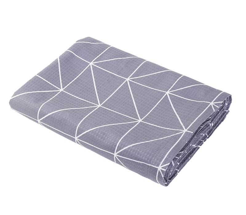 Κουβέρτα Πικέ Υπέρδιπλη 230×240 Nef Nef Marsal Grey