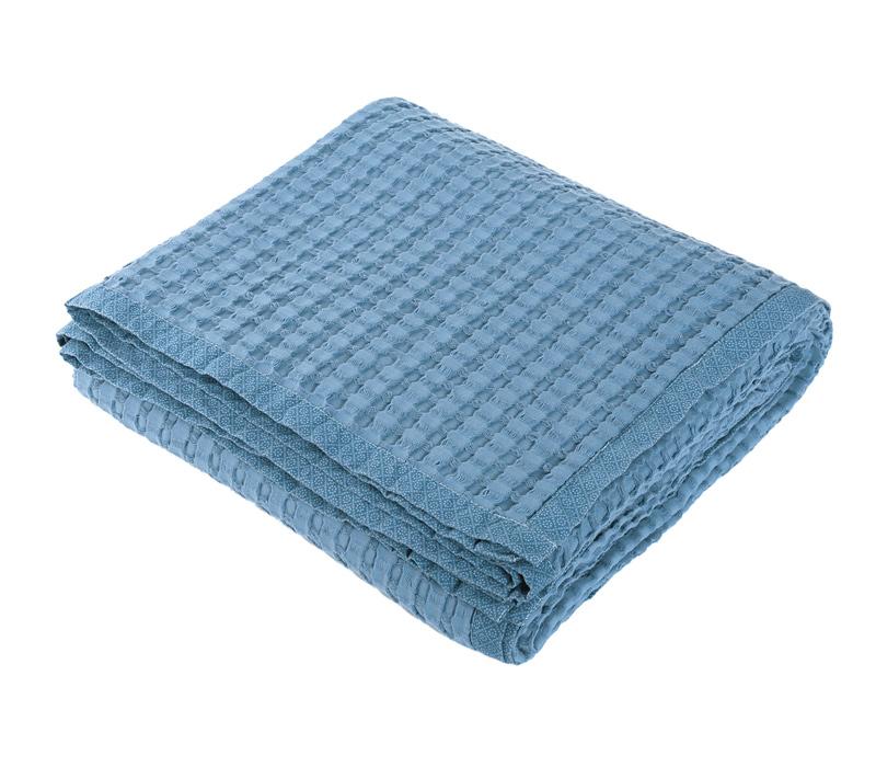 Κουβέρτα Πικέ Υπέρδιπλη 230×240 Nef Nef Blue Margo Blue