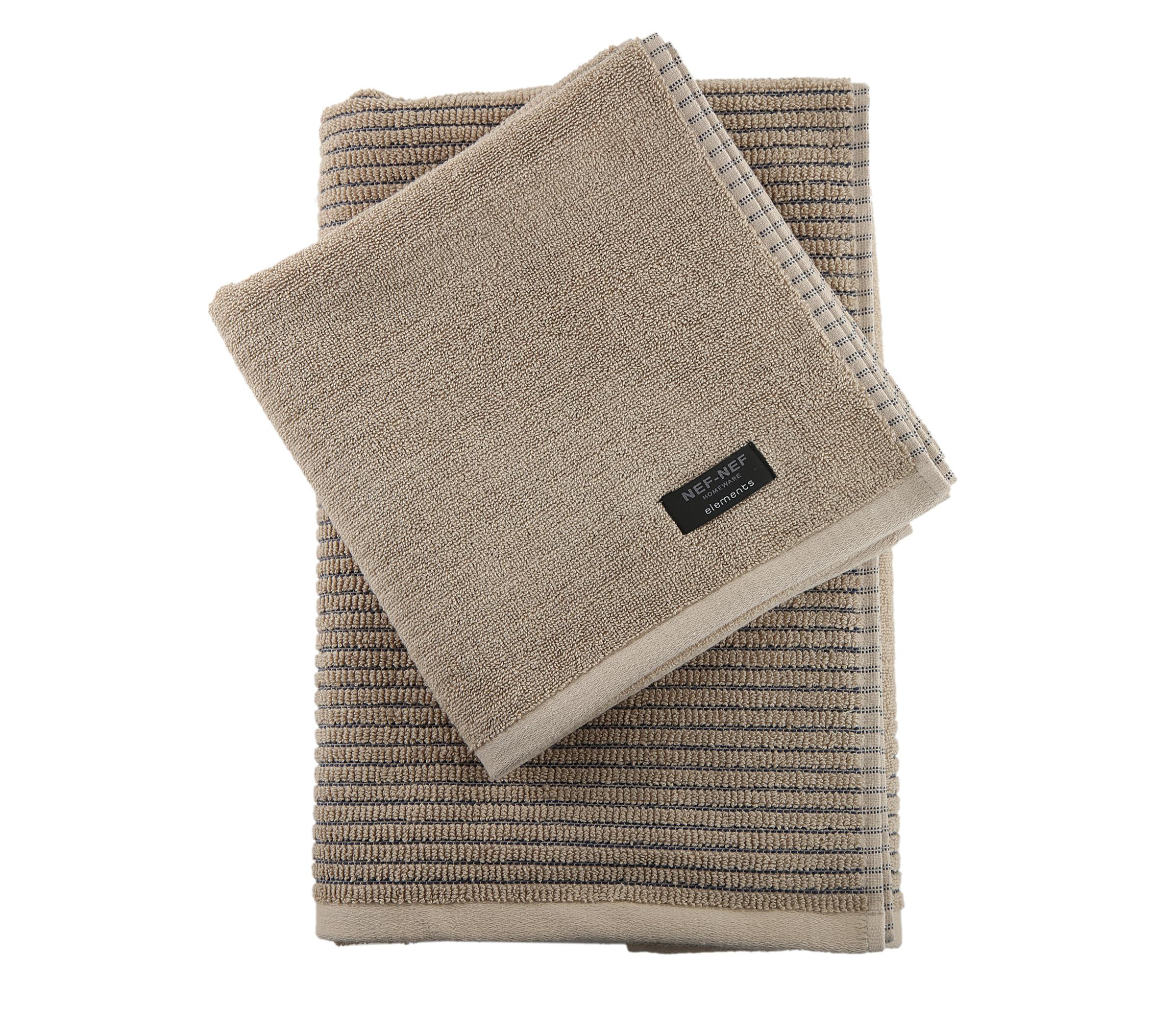 Πετσέτα Προσώπου 50×100 Nef Nef Elements Droit Spring