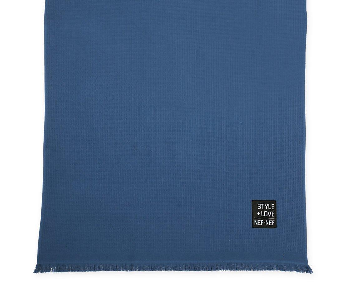 Πετσέτα Θαλάσσης 90×170 Nef Nef Πικε Πετσετα Life Style Navy
