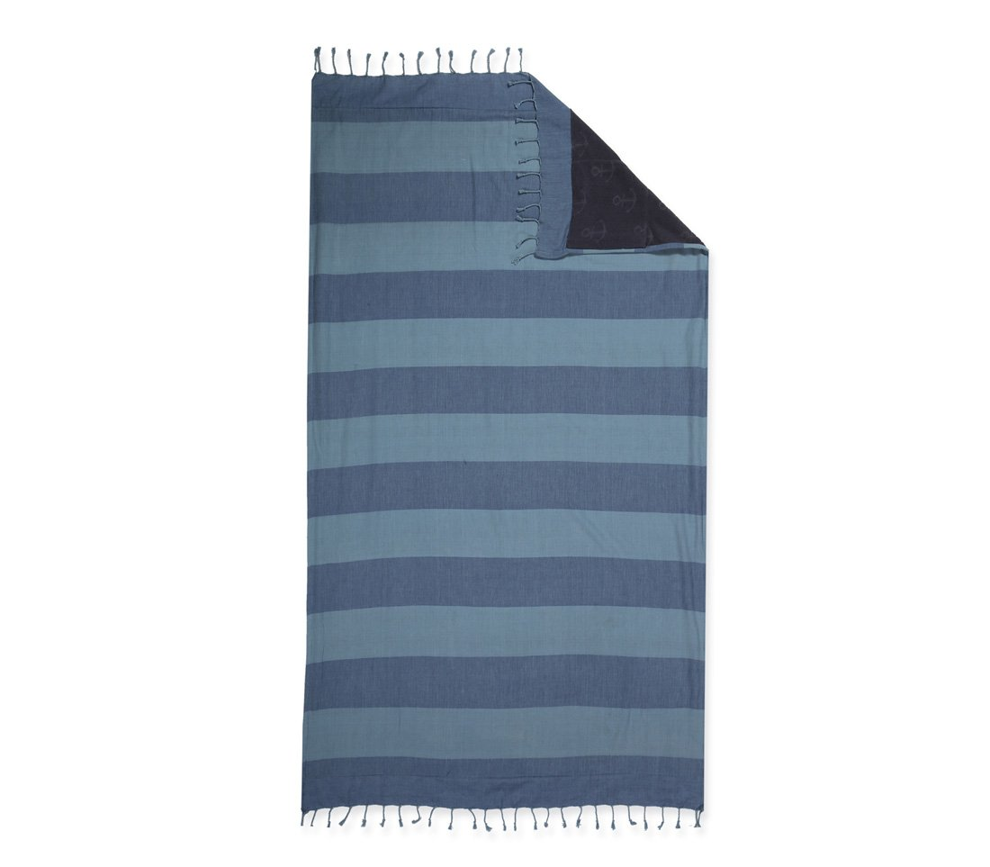Πετσέτα-Παρεό 90×170 Nef Nef Τυπωτη Nautic Μπλε