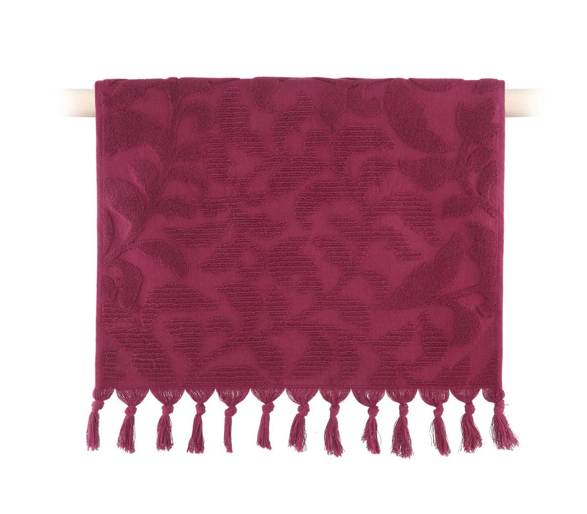 Πετσέτα Μπάνιου 70×140 Nef Nef Kynthia 1127-Bordo