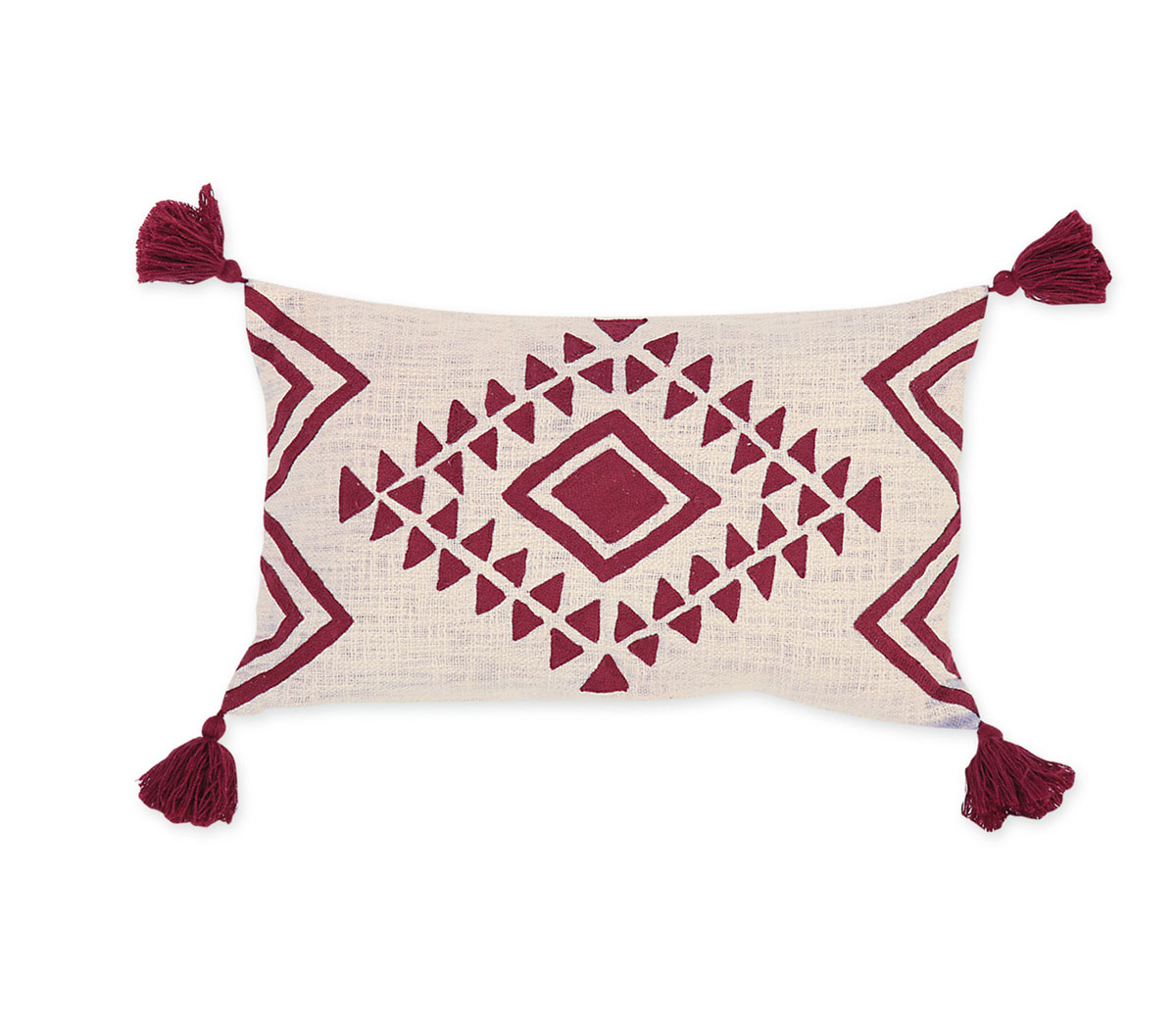 Διακοσμητικό Μαξιλάρι 33×55 Nef Nef Kenthth Amber Bordo