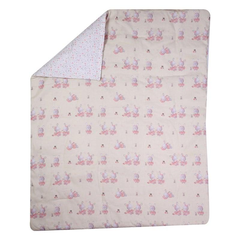 Κουβερλί Κούνιας 110×140 Nef Nef Bunny Ladies Pink